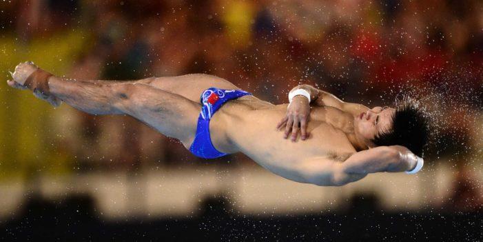 Qui Bo, China, Olympics, Dick Bulge, Swimming, London