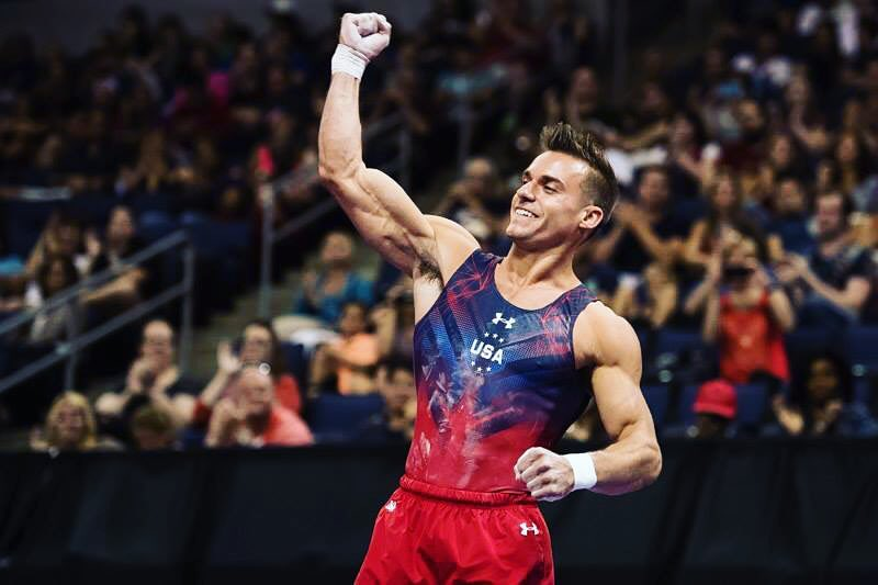 sam mikulak, usa, united states, gymnastics, sports