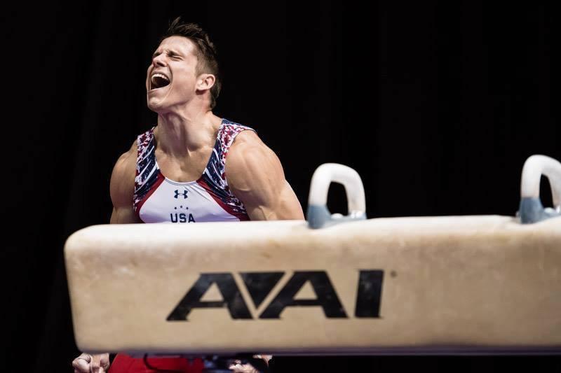 Chris Brooks, United States, Gymnastics, Rio 2016, Olympics, Rio De Janeiro, Sports