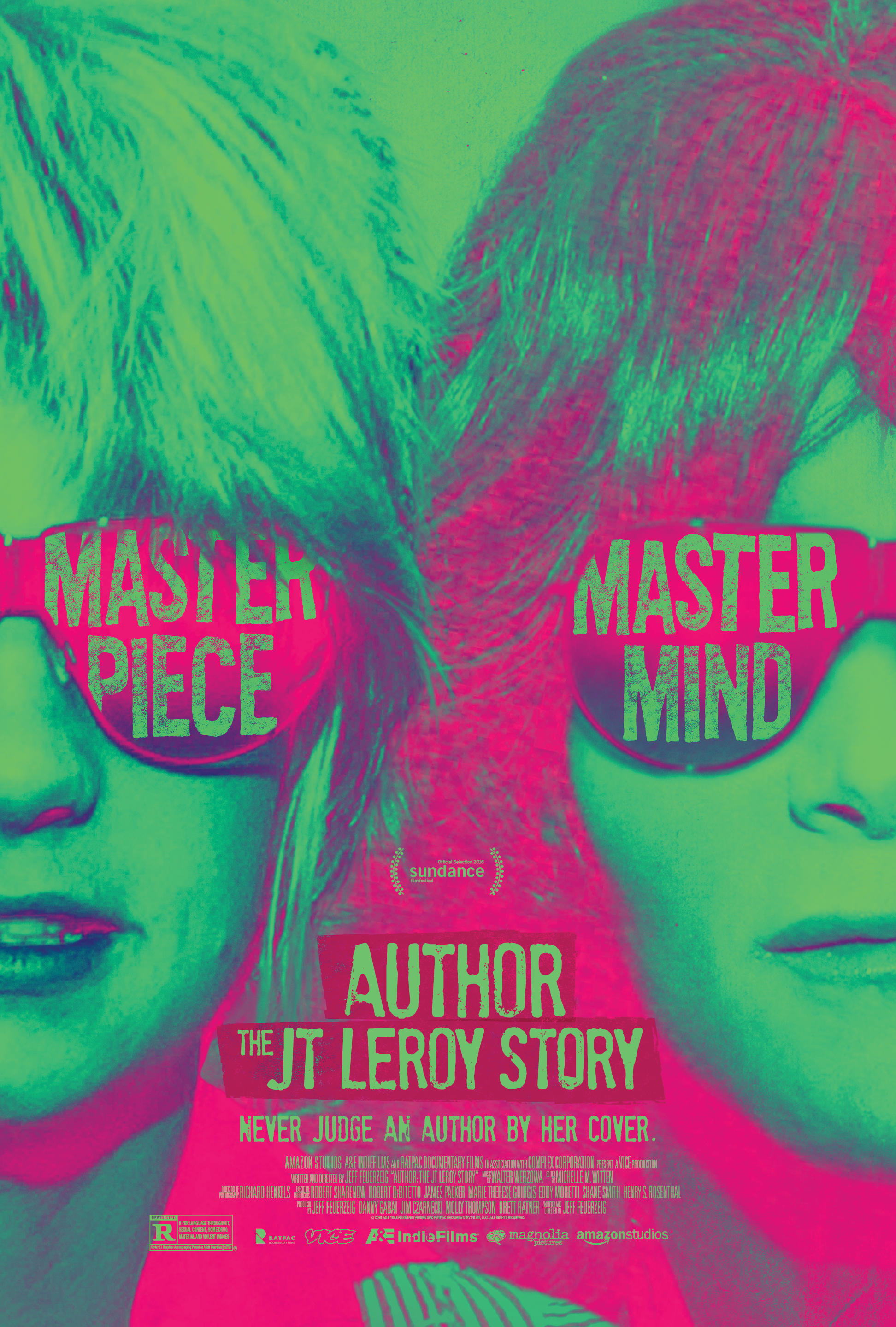 jeff feuerzeig, jt leroy, laura albert, movie poster, author: the jt leroy story