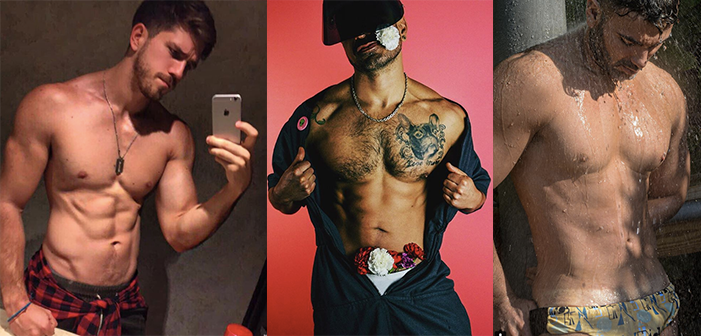 Mexican LGBT, LGBT Sexiest Mexicans, LatinSexyGay, GaySexy, LGBT, Salvador Nuñez, Daniel SIsniega, Ulises Guerrero, Eliad Anastos