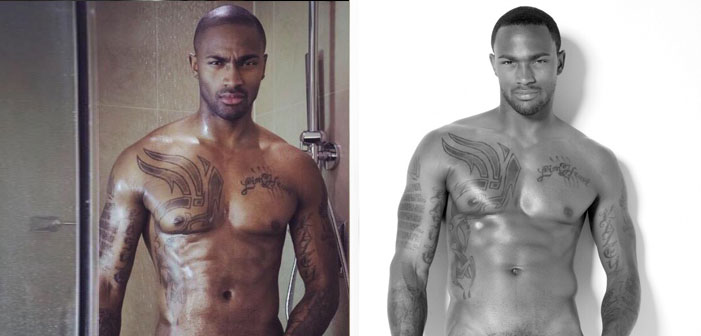 Keith Carlos, America's Next Top Model, bulge, black, model, sexy, shirtless, hot