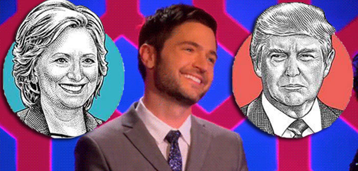 Lucian Piane, RuPaul's Drag Race, election 2016, Hillary Clinton, Donald Trump, election