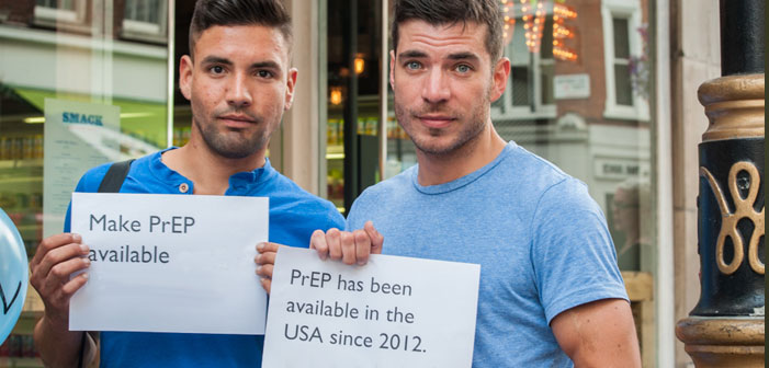 PrEP, activist, gay, men, Truvada, blue, handsome