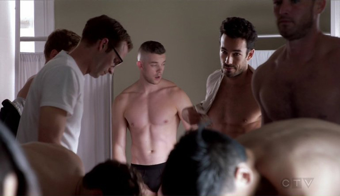 PICS: Russell Tovey Strips Down to His Undies in ABC's 'Quantico'