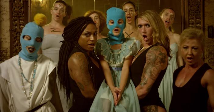 Pussy Riot, Vagina, music video, women, feminism, Russia