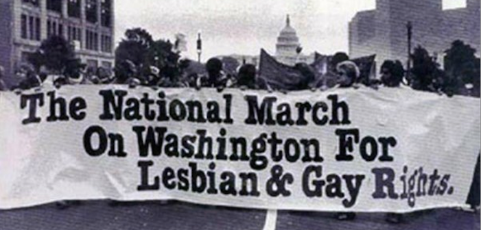 The First National Queer March on Washington