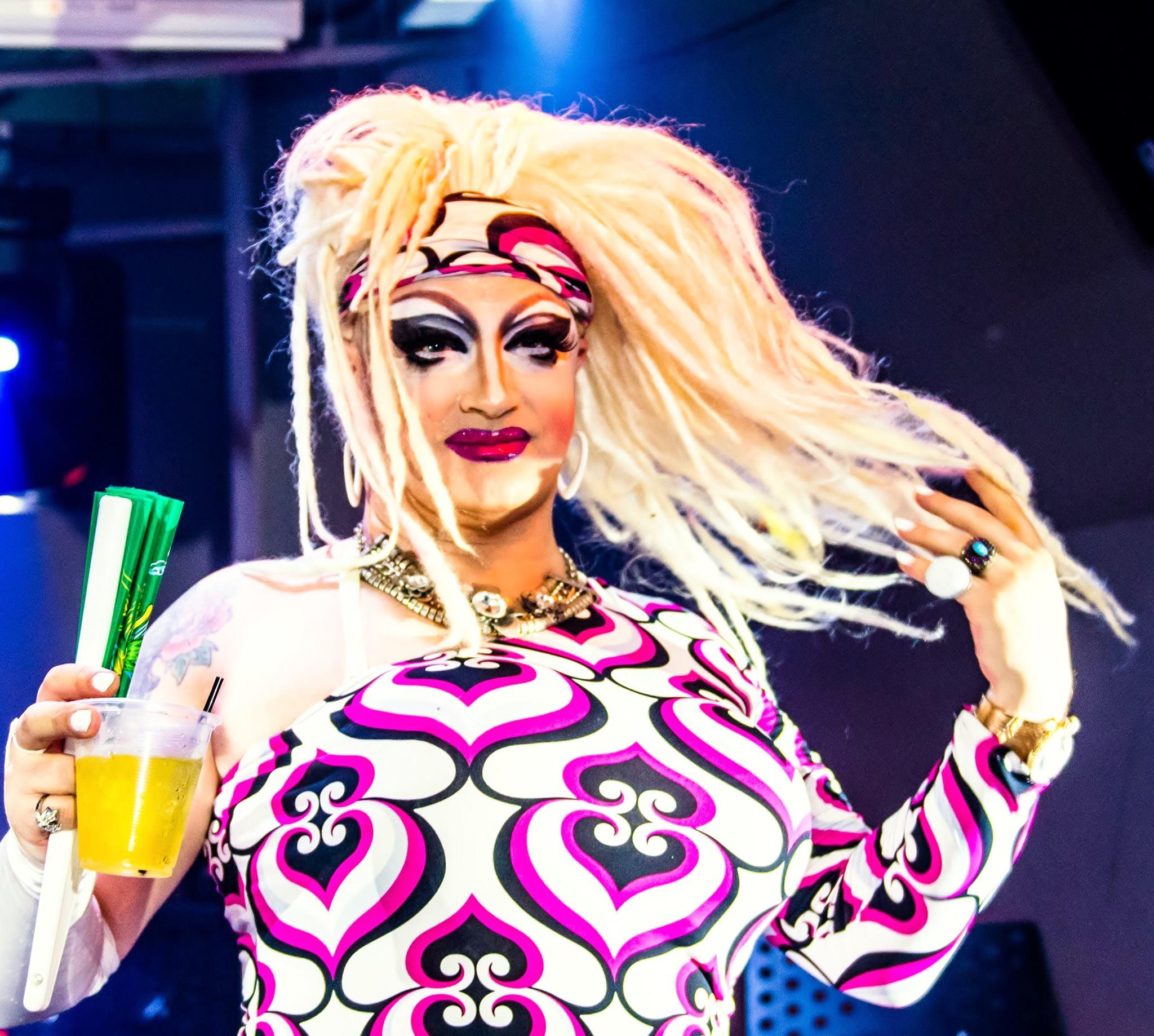 Magnolia La Manga, drag queen and performer at Mr. Gay Taiwan 2016.