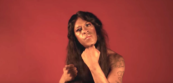 "Mykki Blanco Recites ""I Want a Dyke for President"" and it is Amazing"