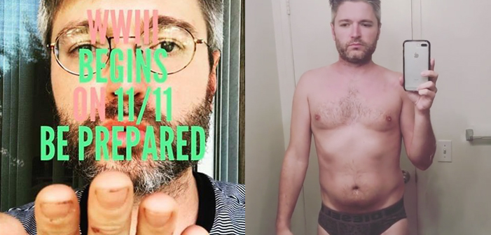 Lucian Piane, RuPaul's Drag Race, mental illness, meth, paranoid, briefs, shirtless, Diesel