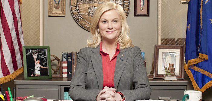 amy poehler, leslie knope, parks and recreation, donald trump