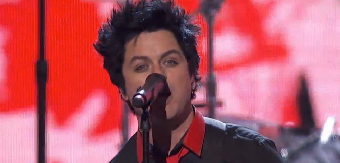 Green Day at AMAs: 'No Trump! No KKK! No Fascist USA!' (Video)