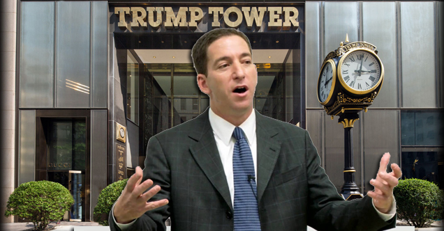 Glenn Greenwald Unimpressed by Journalists Kissing Trump's Butt For Access