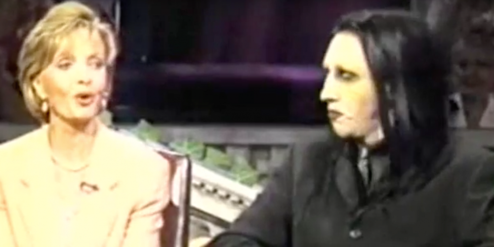 Remember When Florence Henderson and Marilyn Manson Became Friends?
