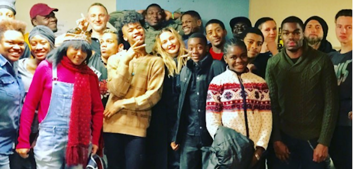 Madonna and Lady Gaga Hang with the LGBTQ Youth of New York's Ali Forney Center