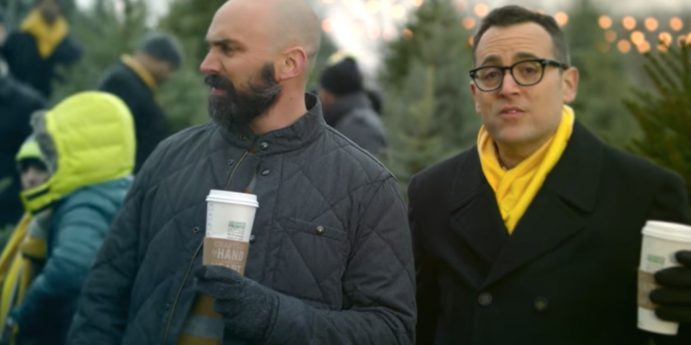 Watch the 'Can You Hear Me Now?' Guy's New Sprint Commercial with His Real Husband