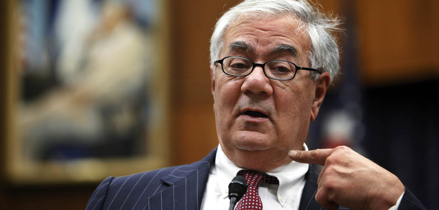 Barney Frank Slams Antonin Scalia as Advocate of 'Fag Burning' (Video)