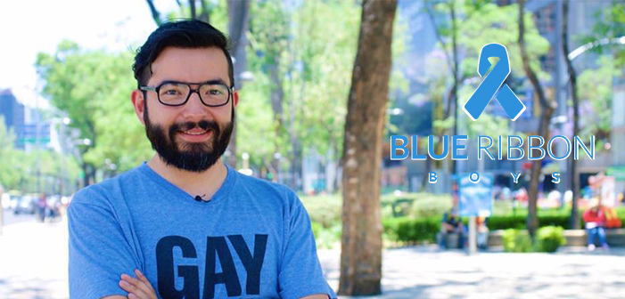 Blue Ribbon Boys: LGBT Journalist Cristian Galarza Fights Against HIV Stigma