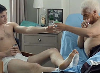 aging, older, gay, old man, Gerontophilia, Bruce LaBruce, film, romance, shirtless, naked, handsome