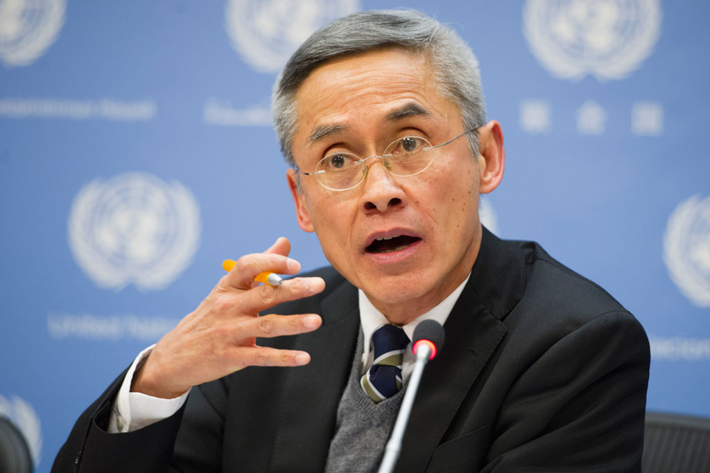 Vitit Muntarbhorn, the UN's first independent expert on the protection against violence and discrimination based on sexual orientation and gender identity.
