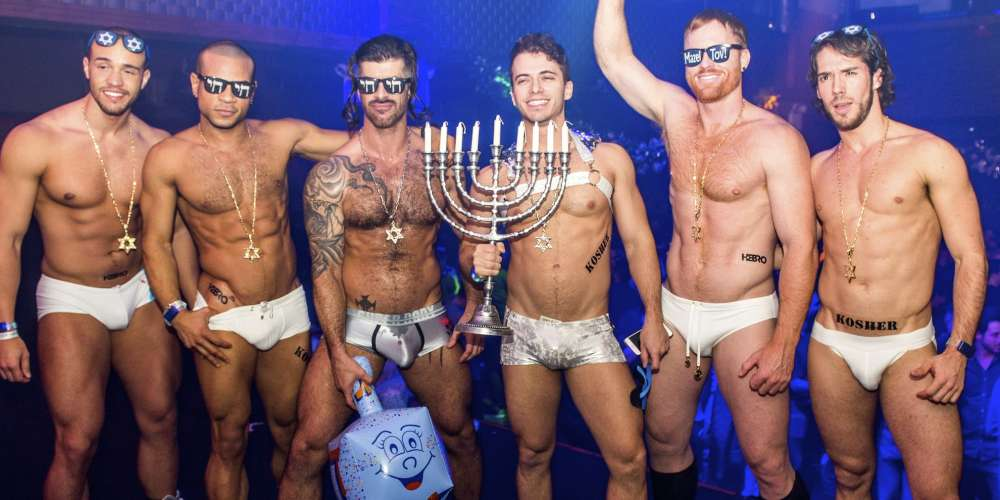 25 Sexy Shots from Jewbilee, New York's Winter Party for Kosher Gays