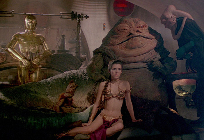 Carrie Fisher, actress, Star Wars, Postcards from the Edge, princess leia, Jabba the Hut