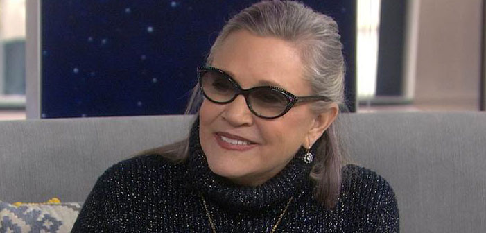 Carrie Fisher, actress, Star Wars, Postcards from the Edge