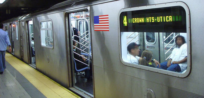 New York City, Subway train, 4