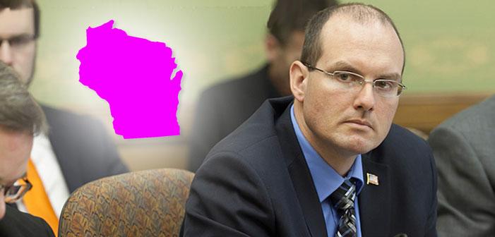 Wisconsin, state representative, Republican, Jesse Kremer, bathroom bill, transphobia