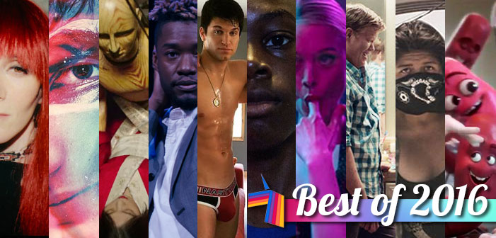 Unicorn Booty, best of 2016, LGBTQ film, Author: The JT LeRoy Story, Closet Monster, The Handmaiden, Kiki, King Cobra, Moonlight, The Neon Demon, Other People, Ovarian Psycos, Sausage Party