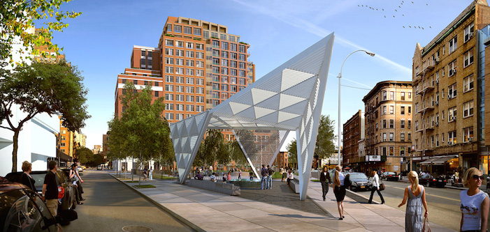 New York City AIDS Memorial Unveiled on World HIV Day