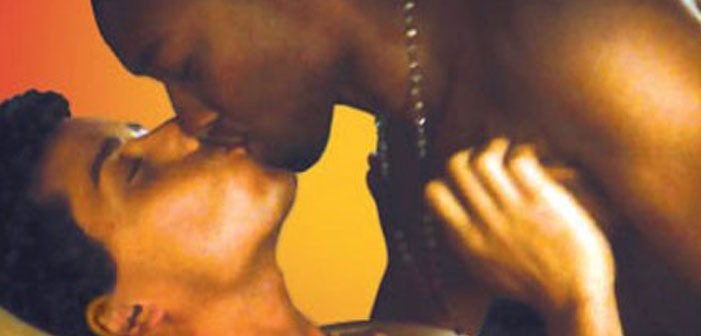 black, latino, African-American, Hispanic, gay, men, kiss, homosexual, naked, tender, love, gift guide