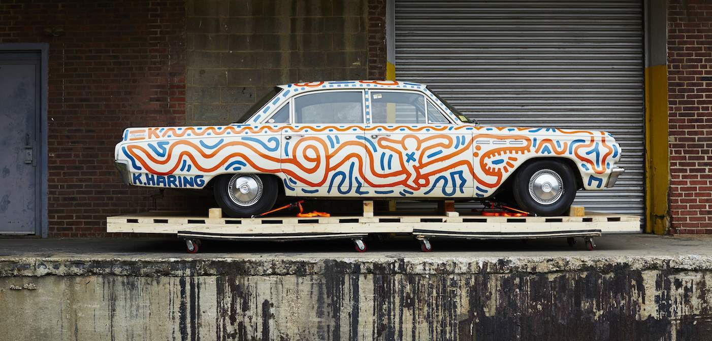 Keith Haring 'Art Cars' Race Into Los Angeles (Photos)