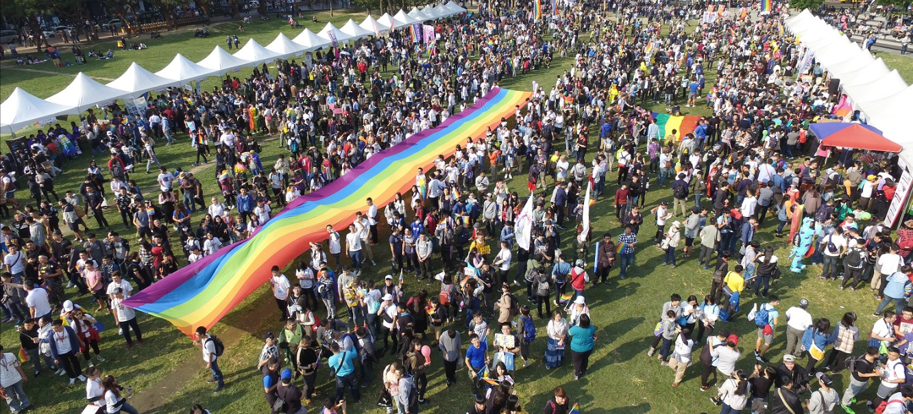 Taichung City, Taiwan, Celebrates Pride with a Record-Breaking Crowd of 20,000