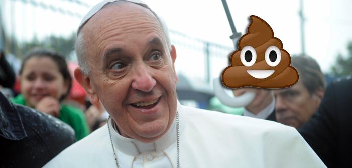 O Papa Compara as Pessoas que Compartilham Notícias Falsas às Pessoas que Comem Cocô