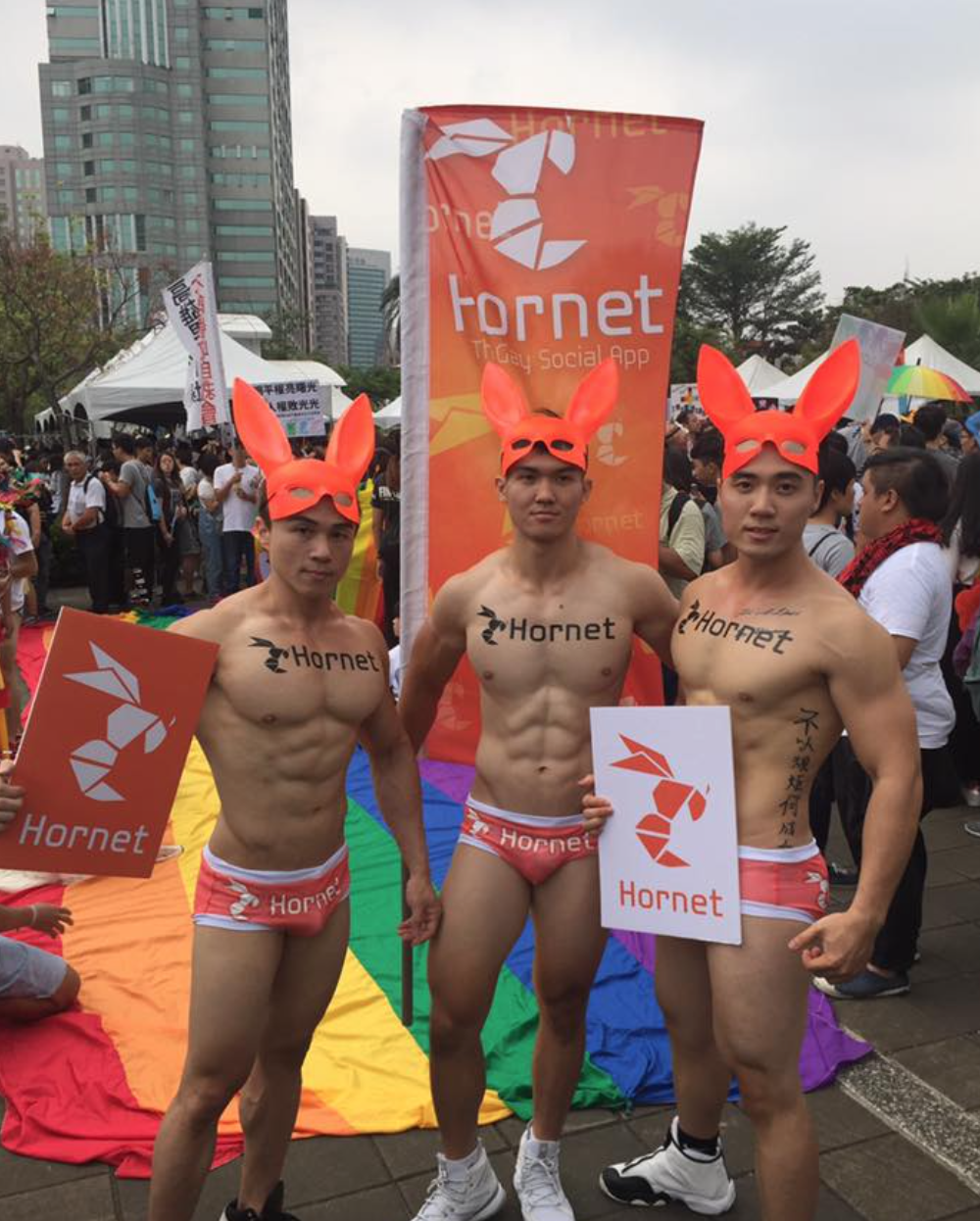 hornet, gay, social, network, kaohsiung, gay, pride, celebration, parade,