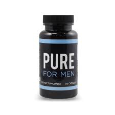 Pure for Men, bottoming pills, fiber, sex. capsules
