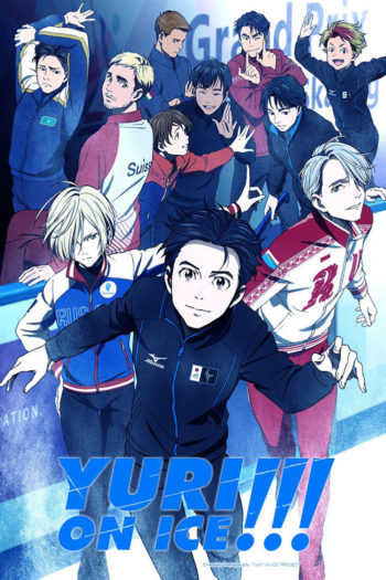 yuri!! on ice, crunchyroll, funimation, anime, manga