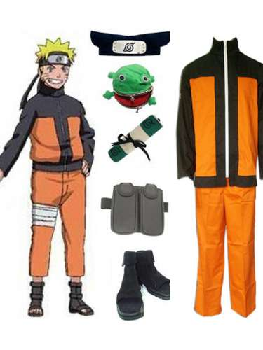 naruto, cosplay, costume, anime