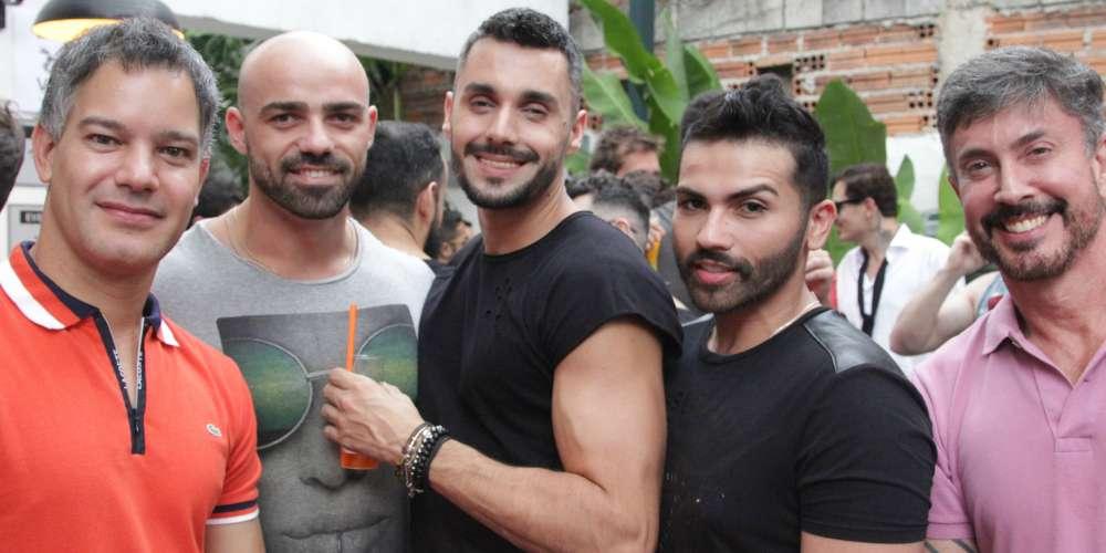 Gay Men Celebrate Social Networking App Hornet in São Paulo, Brazil