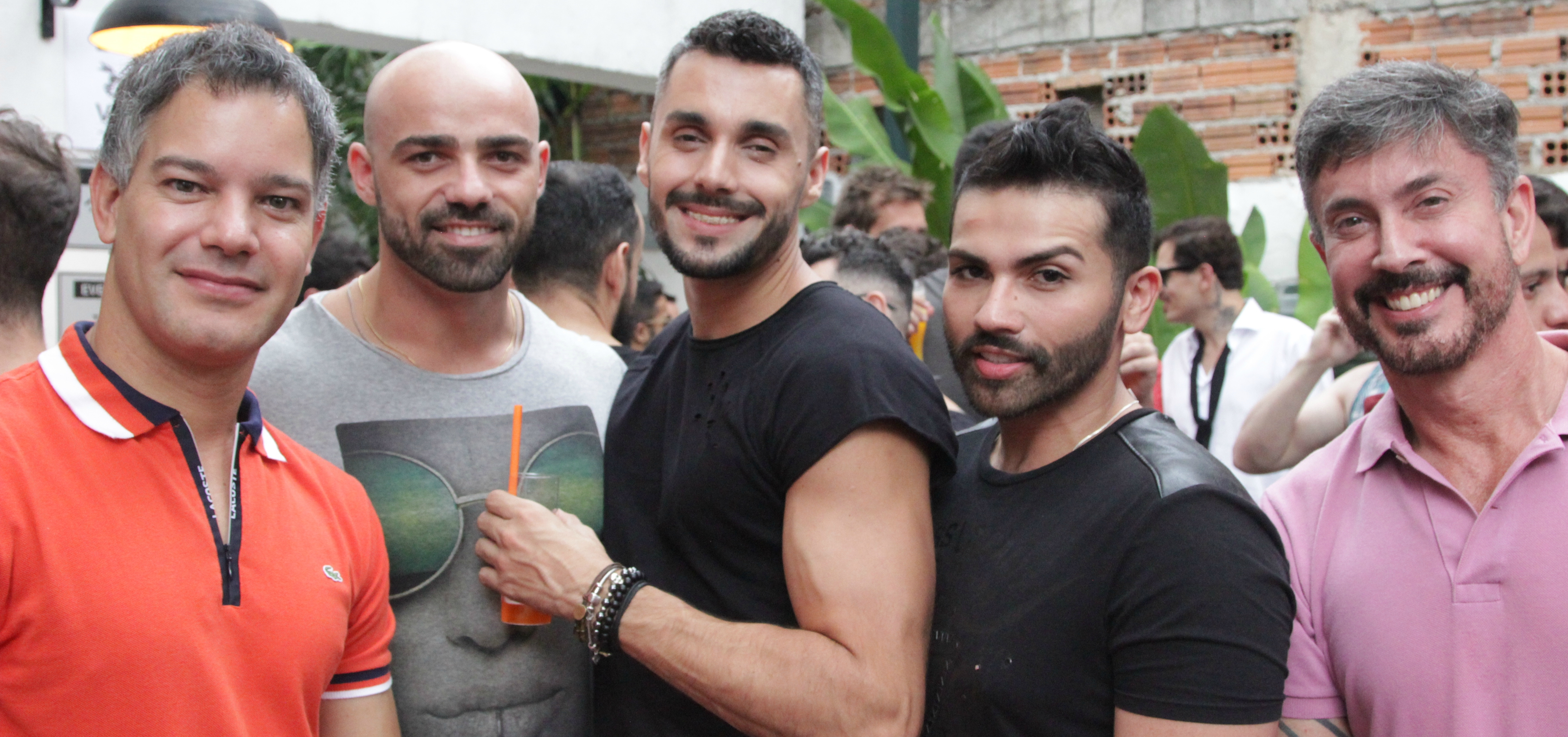 Gay Men Celebrate Social Networking App Hornet in São Paulo, Brazil