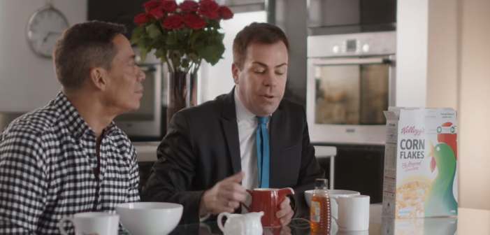 kelloggs ad features gay couple