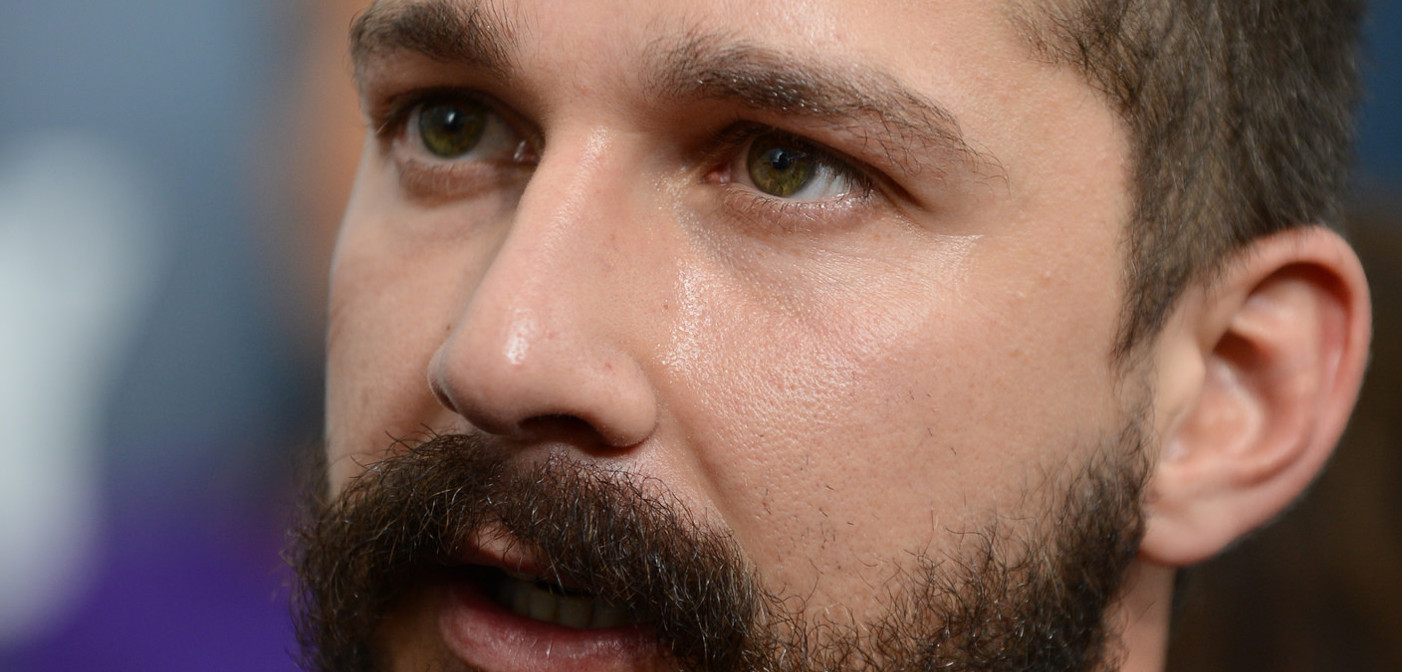 Shia LaBeouf Battles the Nazis (Video)