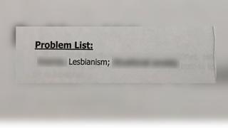lesbianism listed medical problem