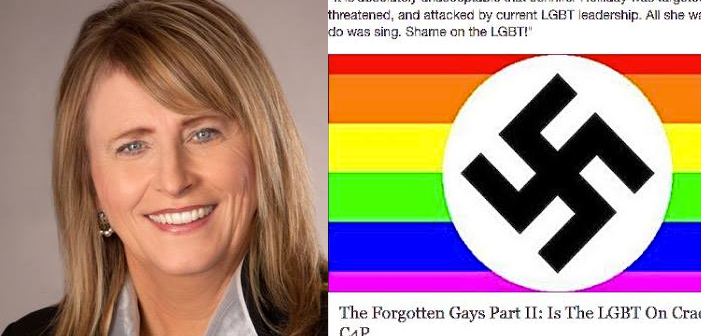North Dakota Senator 'Accidentally' Shares Gay Nazi Flag on Facebook