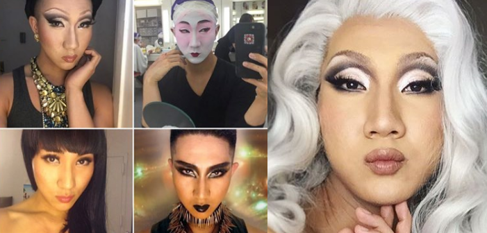 gay buddhist makeup artist, gay buddhist makeup artist kodo nishimura