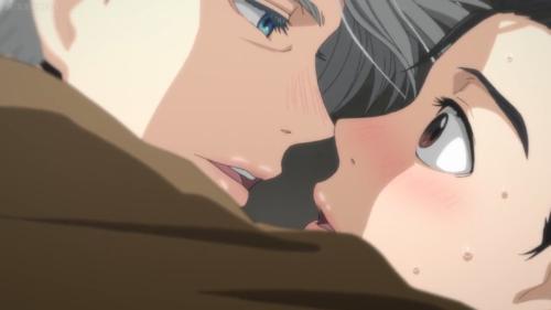 Yuri on ice, kiss, gay, anime
