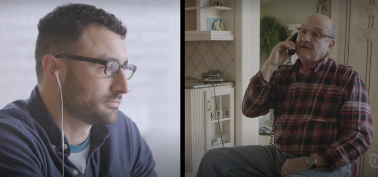 A Gay Son and His Trump-Supporting Father Talk Politics (Video)