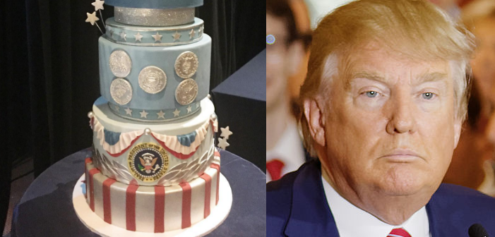 Trump's Inauguration Cake Bakers Donated the Profits to an LGBTQ Rights Organization