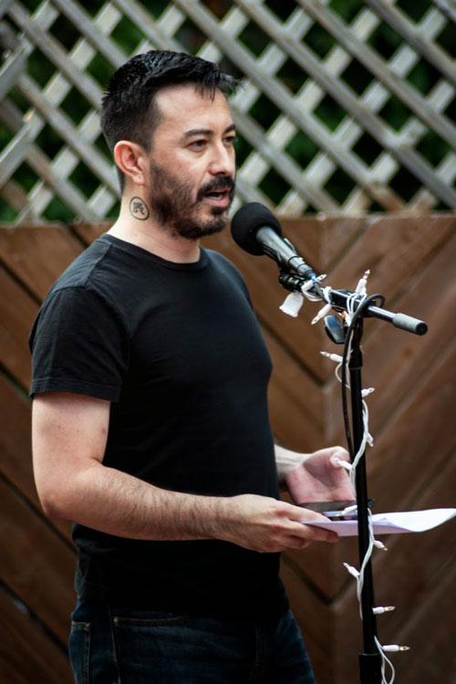 100 LGBTs, poet, Rueben Quesada